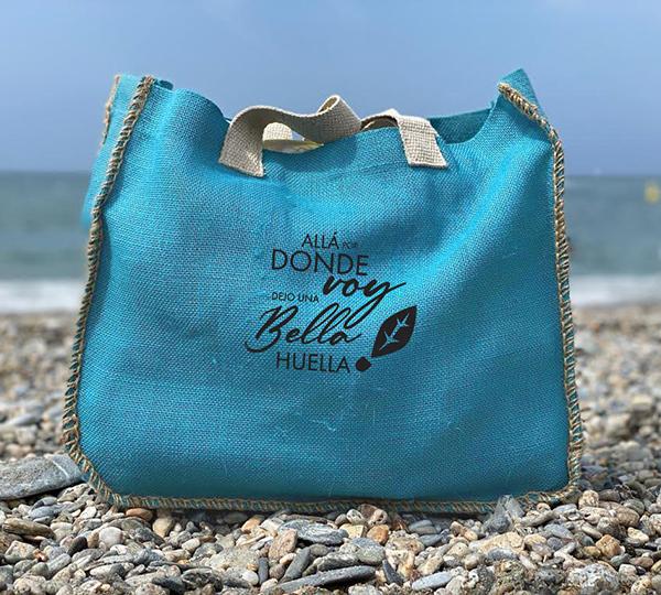 Bolso de Playa Bella Huella Azul