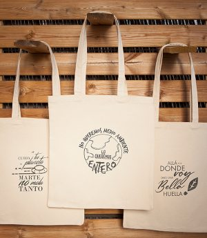 Pack de 3 Jengibre tote bag