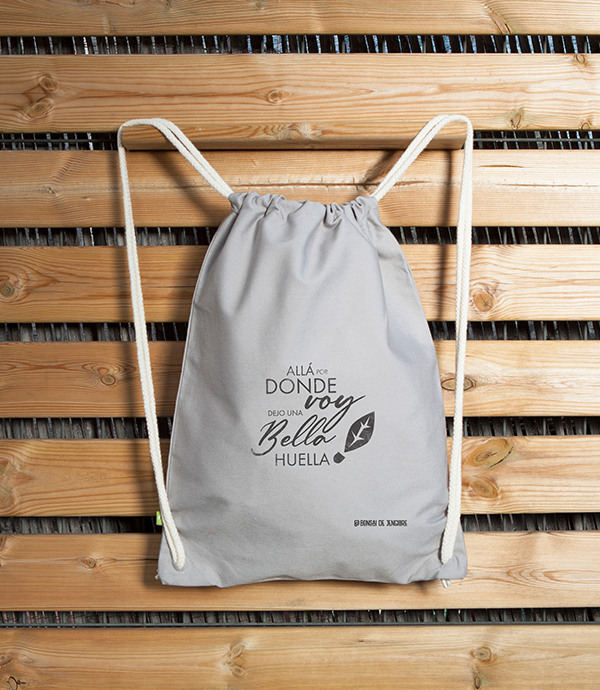 Bolsa Ecológica BackPack Bella Huella