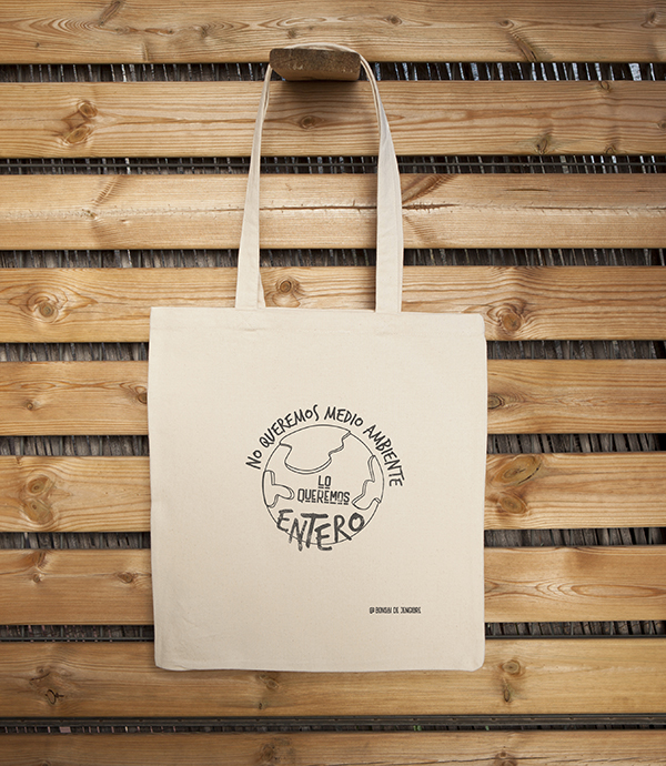 Bolsa Ecológica Tote Bag Medio Ambiente