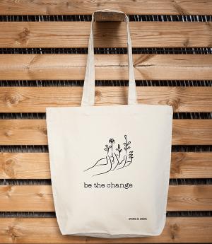 Bolsa Ecológica Tote Bag Crema