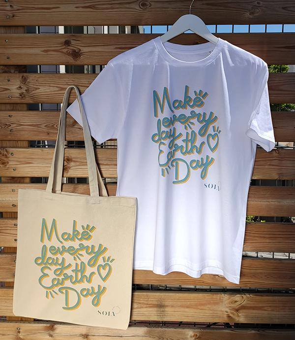 pack tote bag + T-shirt