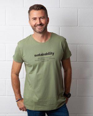 Camisetas ecológicas sostenibles de algodón orgánico