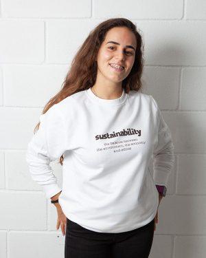 Sudadera Ecológica Algodón Sustainability