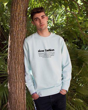 Sudadera Ecológica Algodón Slow Fashion